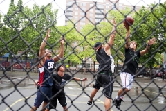 Basket in New York city